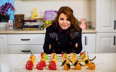 Prăjituri Fructe Lucrate în Ciocolată